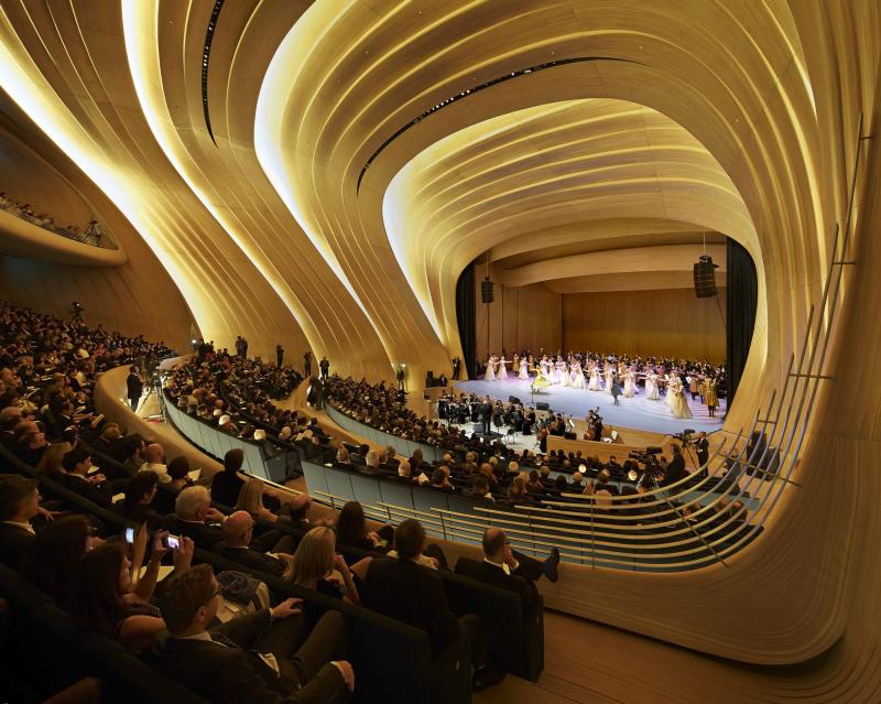 Конференц-зал в Баку - залы мира