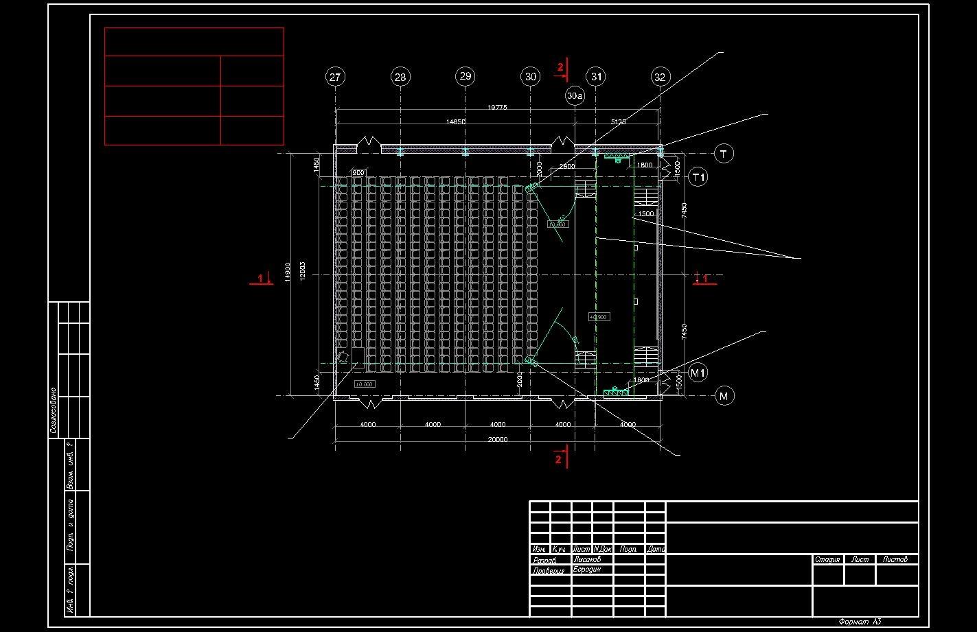 Пример проекта светового оборудования