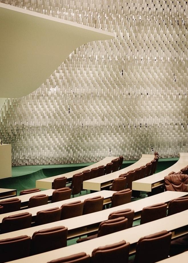 Зал заседаний французской Коммунистической партии фото 4