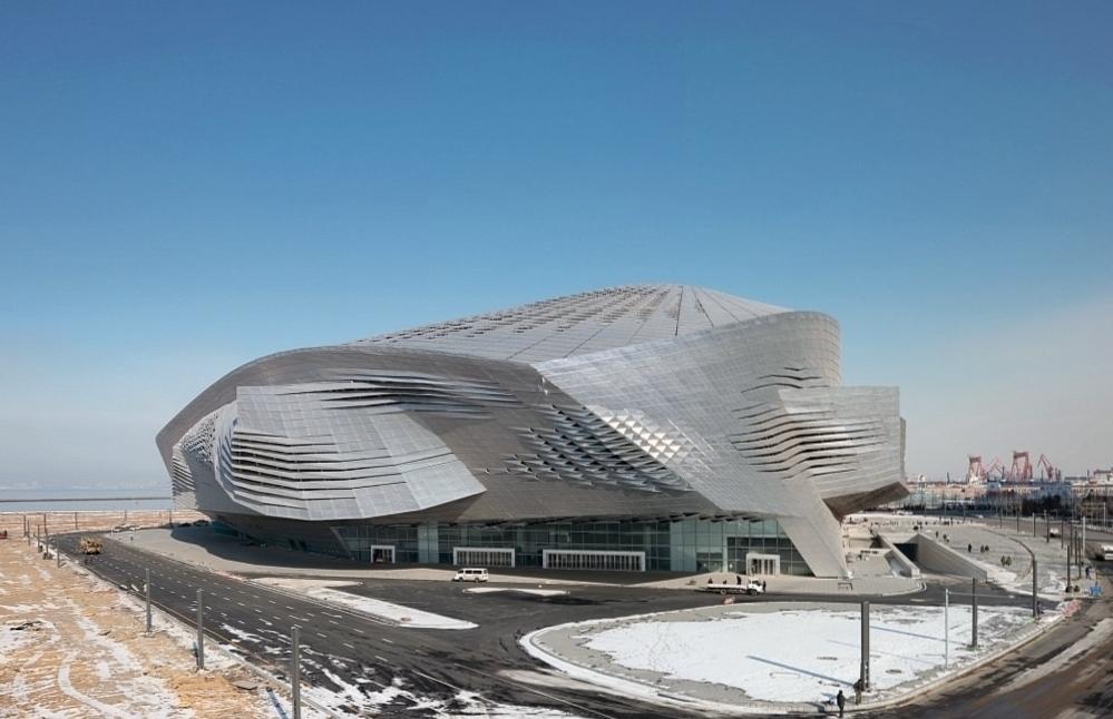 Международный конференц-центр в Даляне фото 6