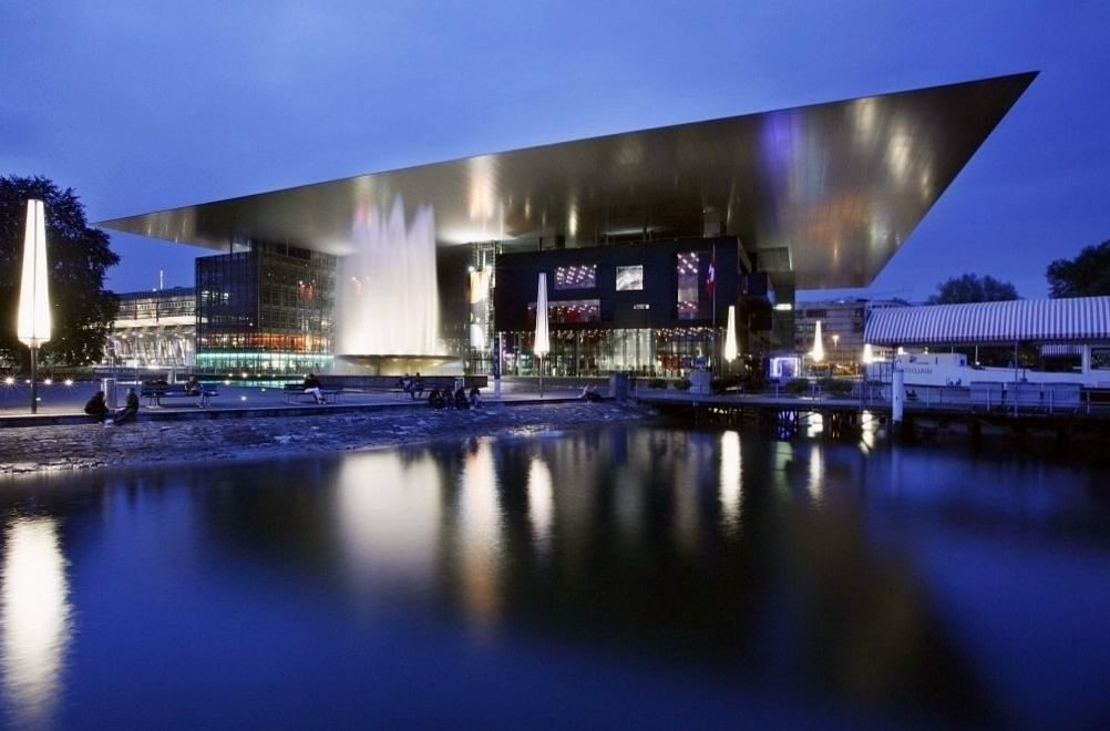 Концертный зал культурного центра Люцерна Фото 4