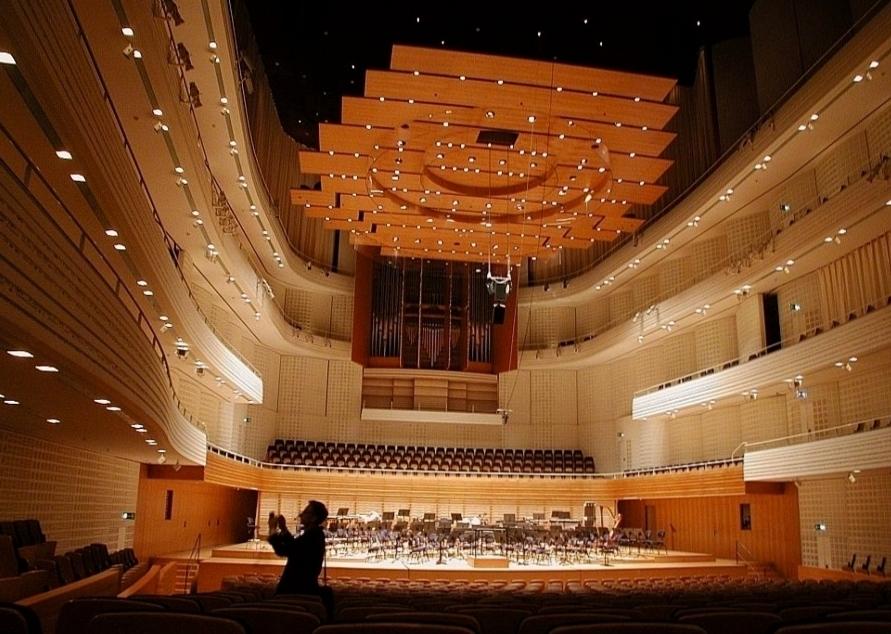 Концертный зал культурного центра Люцерна Фото 3