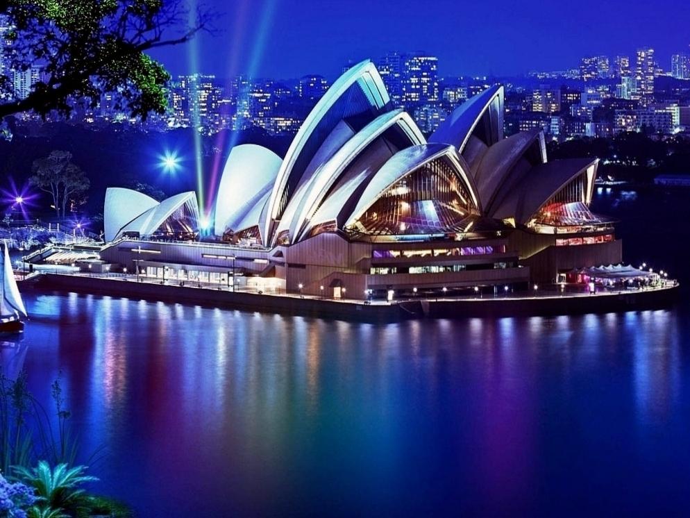 Сиднейский оперный театр фото 1