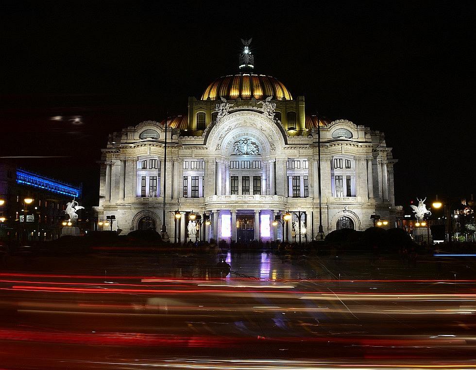 Дворец Изящных Искусств в Мехико фото 4